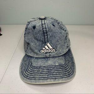 Adidas acid washed cap hat